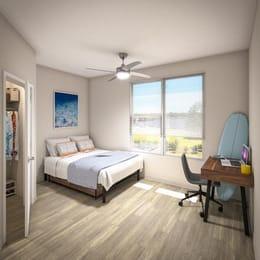 Uncommon-Wilmington-NC-Bedroom-Unilodgers