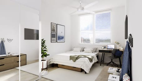 Uncommon-Auburn-AL-Bedroom-Unilodgers
