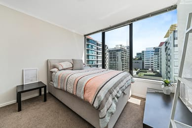 710-148-Wells-Street-South-Melbourne-Student-Accommodation-Melbourne-Bedroom-Unilodgers