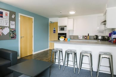 Kyle-Park-House-Glasgow-Shared-Kitchen-Area--Unilodgers