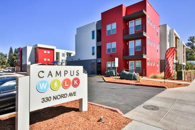 Campus-Walk-Apartments-Chico-CA-Exterior-View-Unilodgers