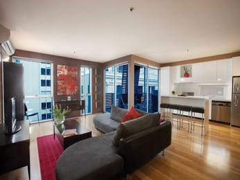 5-8-bank-place-melbourne-student-accommodation-Melbourne-Living-Area-Unilodgers