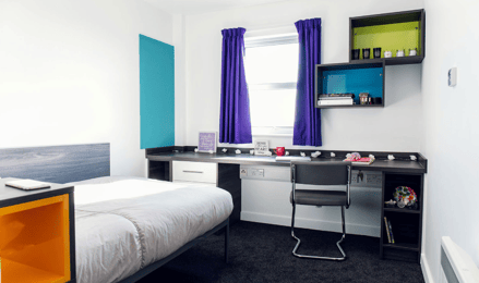 Mill-Point-Manchester-Bedroom-Unilodgers