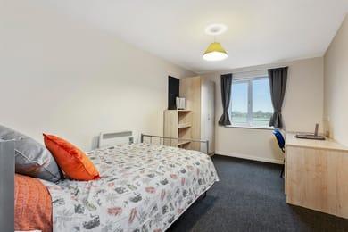 The-Village-Nottingham-Bedroom-Unilodgers