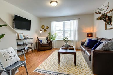 Camden-Forest-Apartments-Wilmington-NC-Living-Area-With-TV-Unilodgers