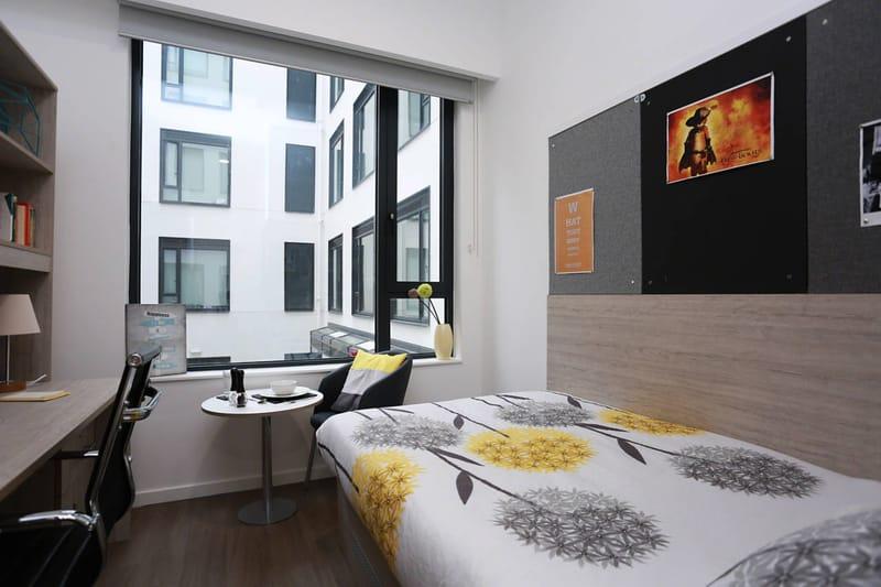 iQ-Bloomsbury-London-Bedroom 2-Unilodgers