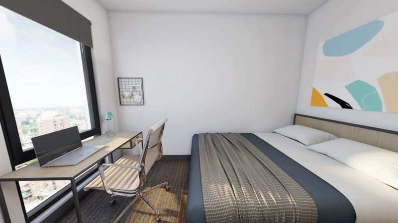 The-Dean-Campustown-Champaign-IL-Bedroom-Unilodgers