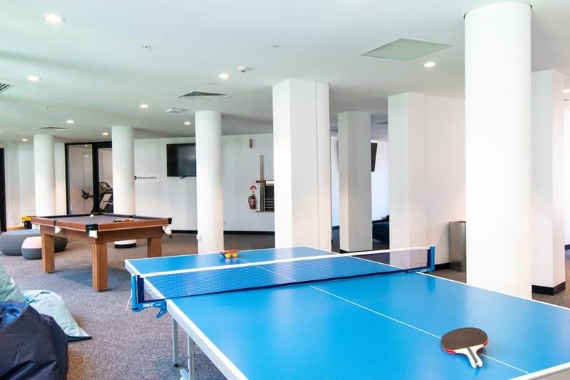 Park-Avenue-Parkville-Melbourne-Games-Room-Unilodgers