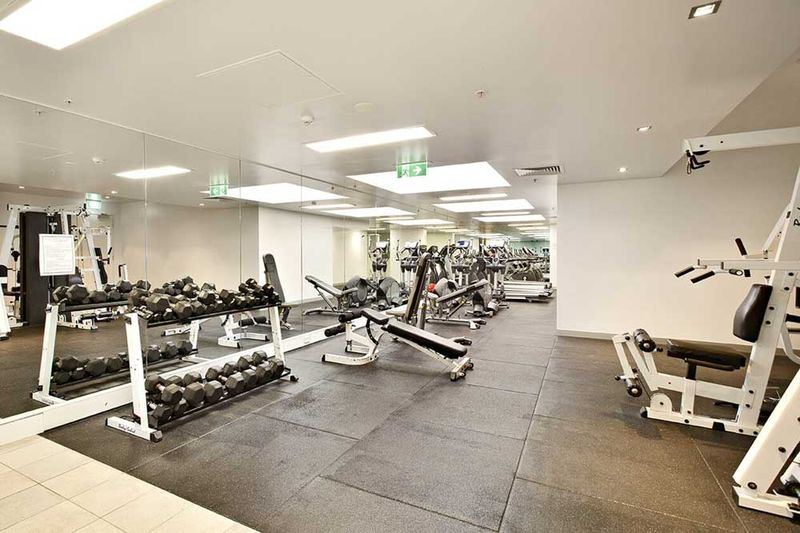 336-Russell-Street-Melbourne-Gym-Unilodgers