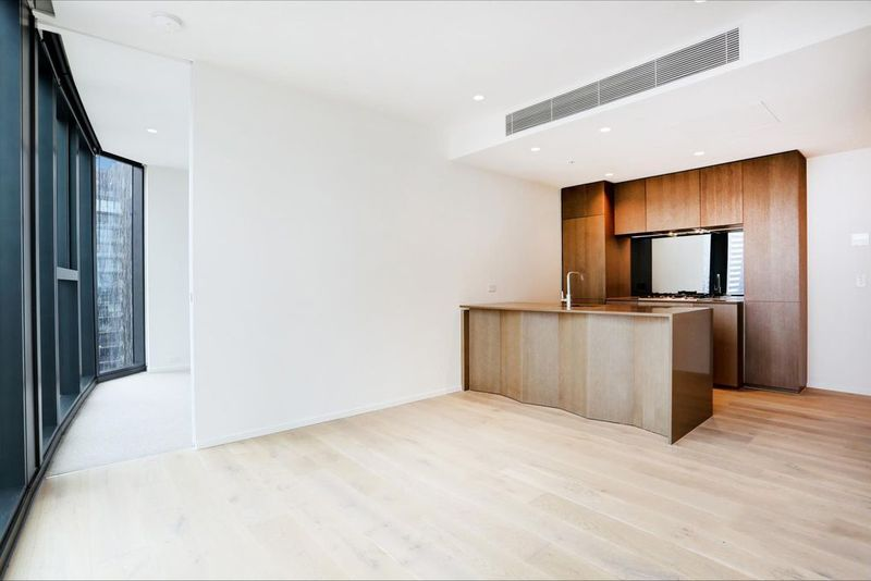 1808W-93-119-Kavanagh-Street-Southbank-Student-Accommodation-Melbourne-Kitchen-With-Living-Area-Unilodgers