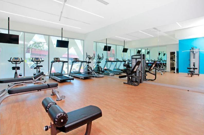 3203-241-City-Road-Southbank-Student-Accommodation-Melbourne-Fitness-Center-Unilodgers