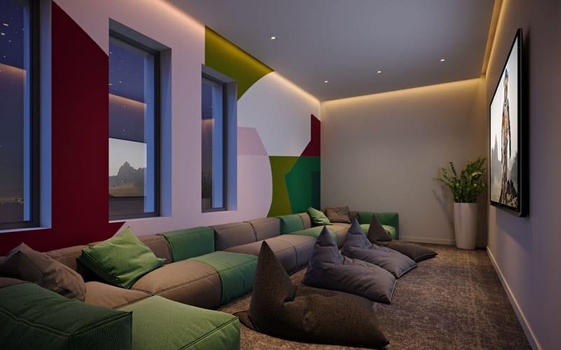 Highfield-House-Dublin-Cinema-Room-Unilodgers