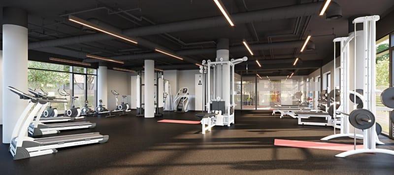 Highfield-House-Dublin-Gym-&-Aerobics-Studio-Unilodgers