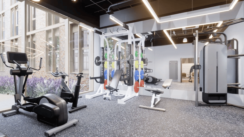 The-Oaks-Coventry-Gym-Unilodgers