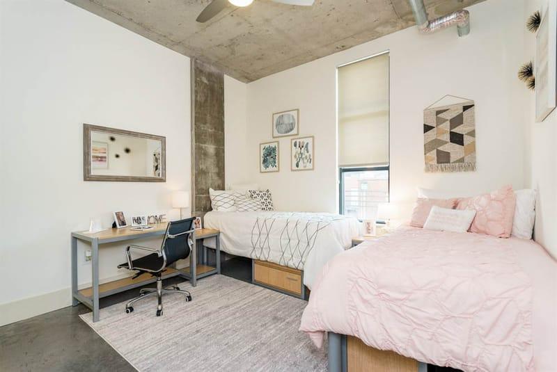 Shortbread-Lofts-Chapel-Hill-NC-Bedroom-Unilodgers