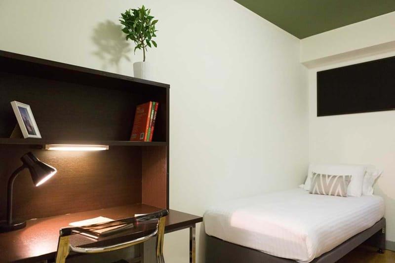 Chapter-Kings-Cross-London-Bronze-Twin-Studio-Bedroom-Unilodgers