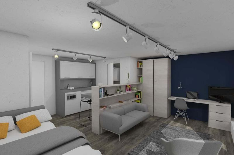 Chapter-Spitalfields-London-Loft-Studio-Bedroom-Unilodgers