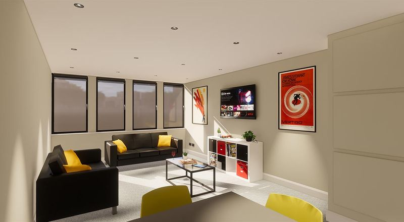 Star-Residence-Sheffield-Living-Area-Unilodgers