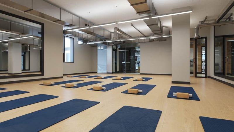 The-Deacon-Cincinnati-OH-Yoga-Room-Unilodgers
