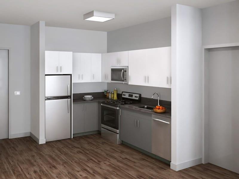 Theory-Syracuse-NY-Kitchen-With-Fridge-Unilodgers