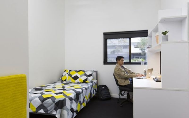 UNSW-Village-Sydney-Study-Desk-And-Bed-Unilodgers