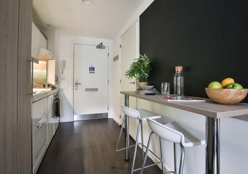 iQ-Bloomsbury-London-Platinum-Studio-Kitchen-Unilodgers