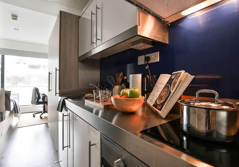 iQ-Bloomsbury-London-Silver-Studio-Kitchen-Unilodgers