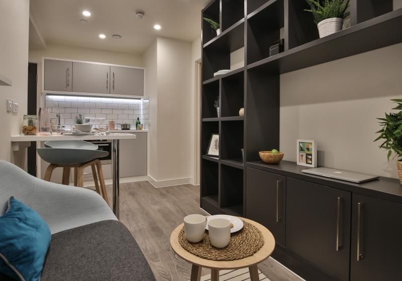 iQ-Shoreditch-London-Two-Bedroom-Apartment-Shared-Living-Area-1-Unilodgers