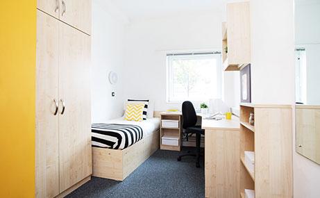 Harriet-Martineau-Birmingham-Bedroom-Area-Unilodgers