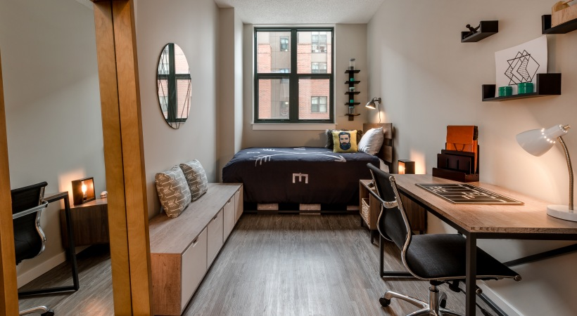 University-View-College-Park-MD-Bedroom-Area-Unilodgers