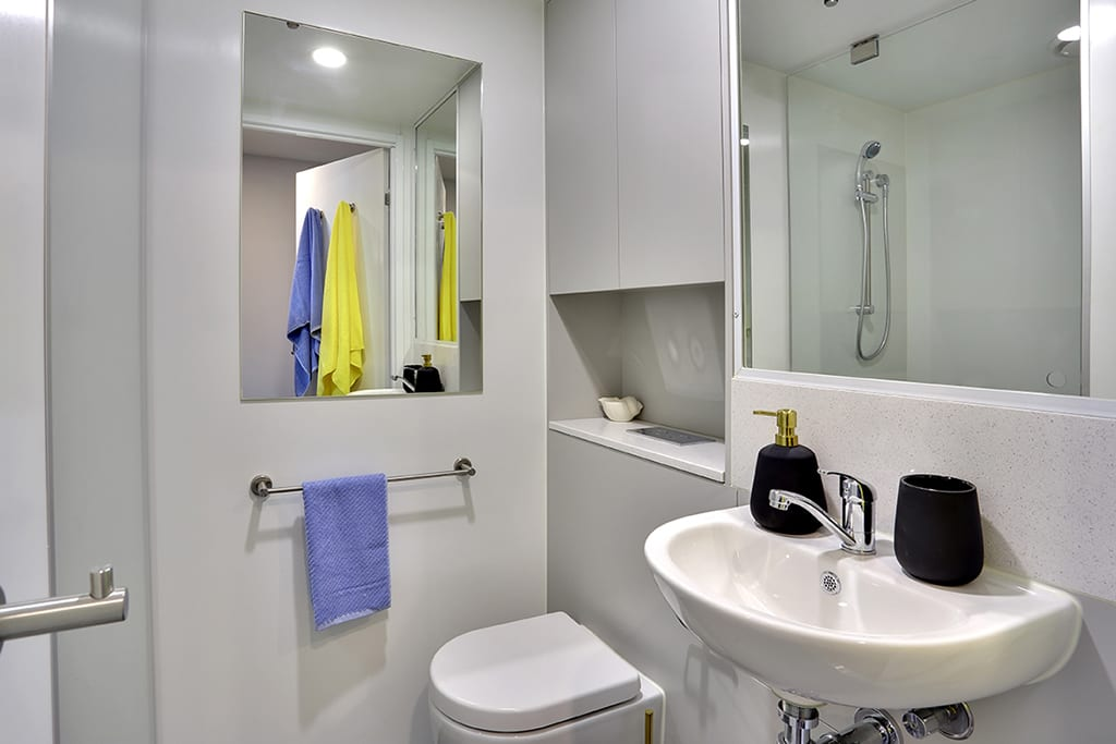 Urbanest-At-The-University-Of-Adelaide-Private-Twin-Share-Studio-Bathroom-Unilodgers
