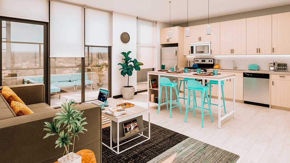 OLIV Tempe Apartments - AZ | Unilodgers.com