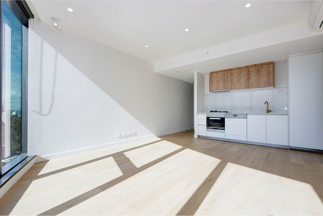 1404-9-23-Mackenzie-Street-Melbourne-Student-Accommodation-Melbourne-Living-Area-With-Kitchen-Unilodgers