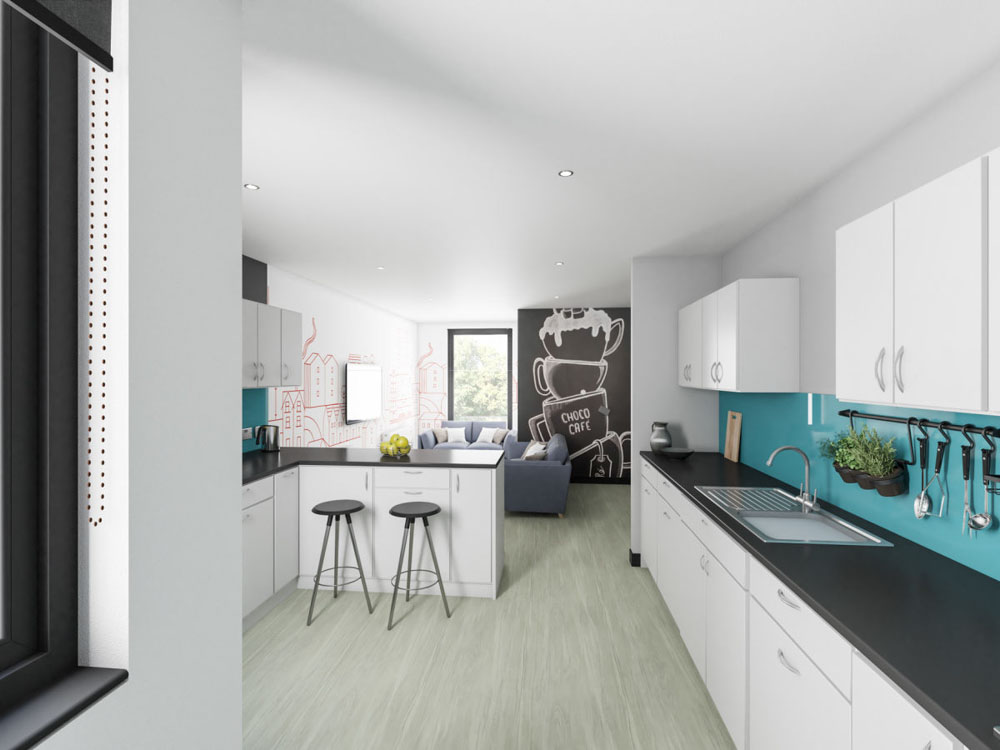 Agnes-Jones-House-Liverpool-Kitchen-Unilodgers