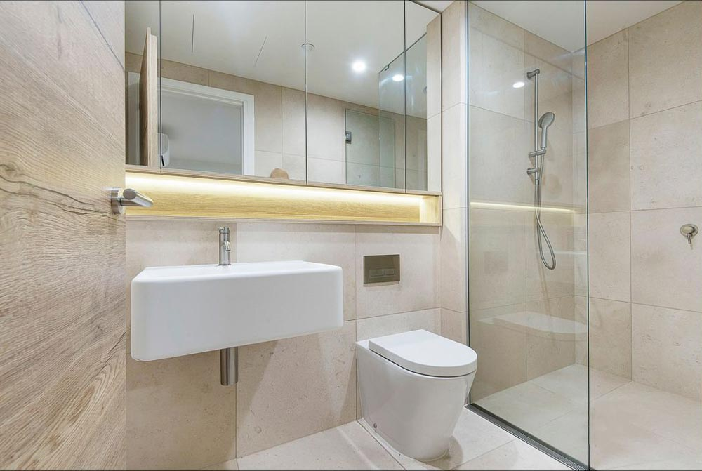 601-12-Queens-Road-Melbourne-Student-Accommodation-Melbourne-Bathroom-Unilodgers