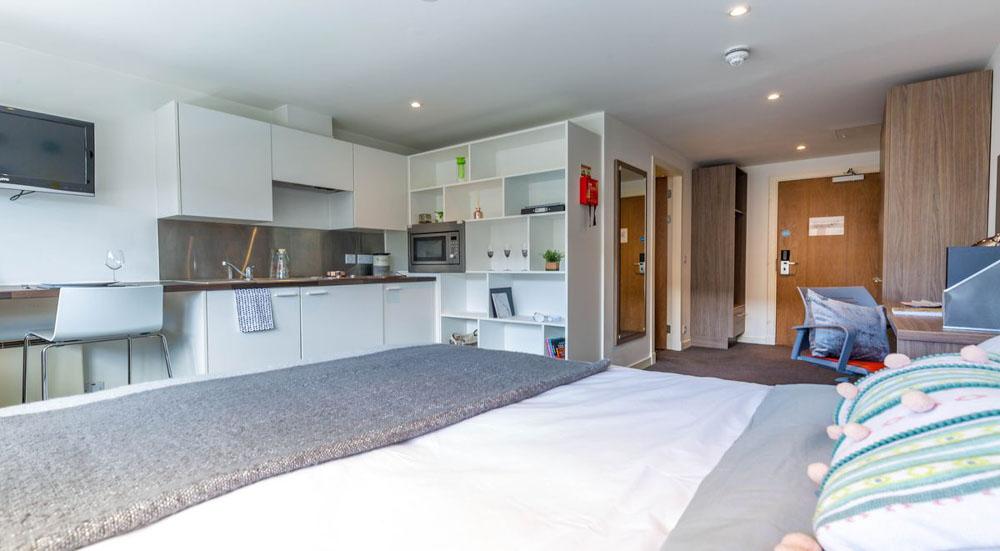 Gallery-Apartments-Glasgow-Studio-Room-Unilodgers