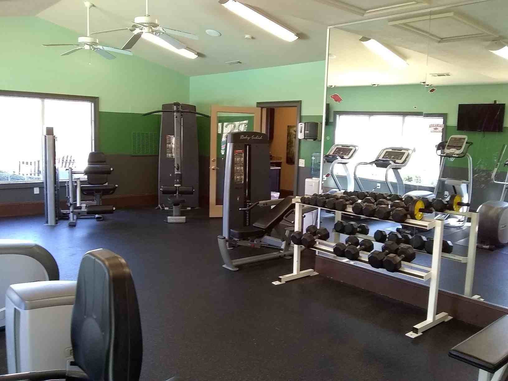 The-Spectrum-Fayetteville-AR-Gym-Unilodgers