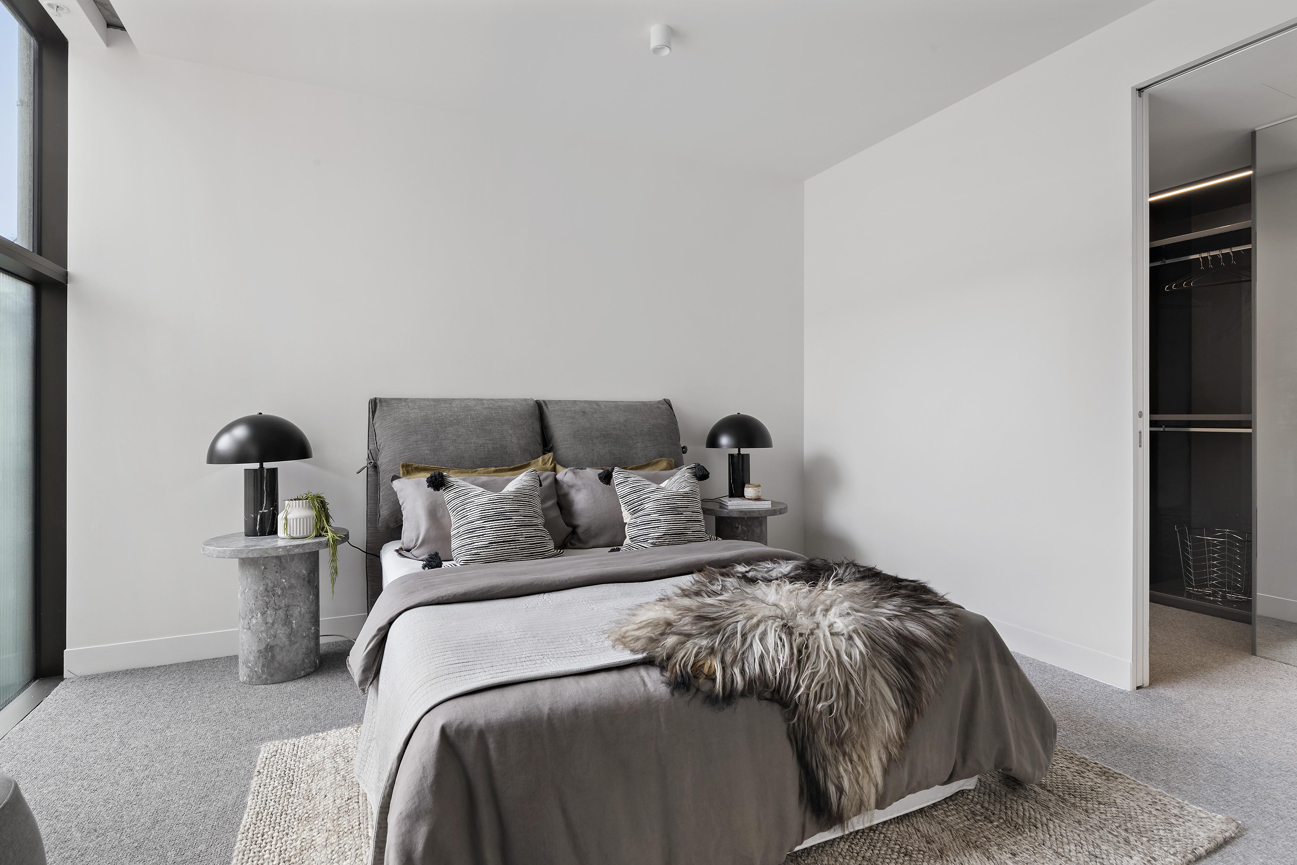 405-9-johnston-street-port-melbourne-student-accommodation-Melbourne-Bedroom-Unilodgers