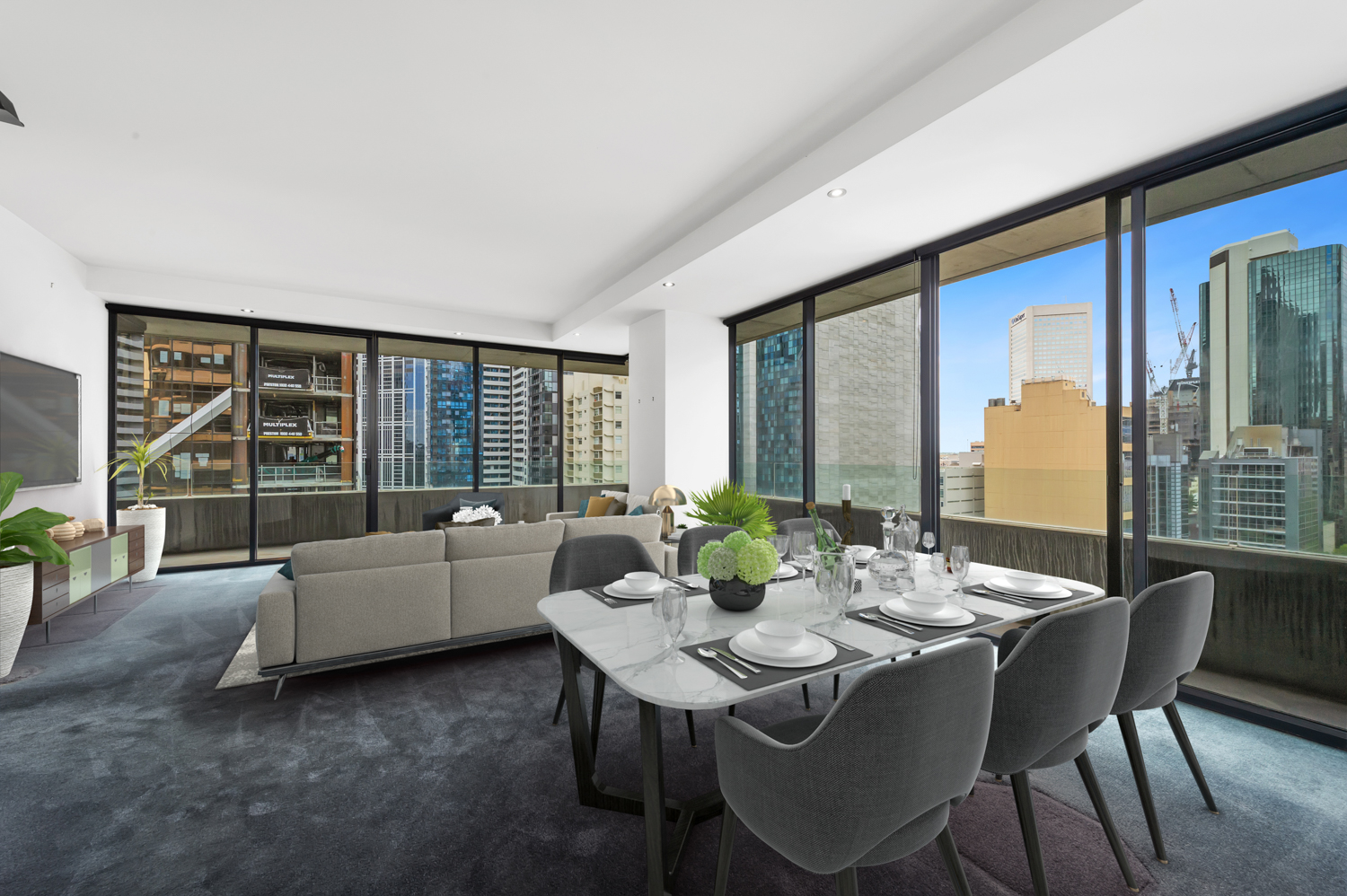 152-299-queen-street-melbourne-student-accommodation-Melbourne-Dining-Area-Unilodgers