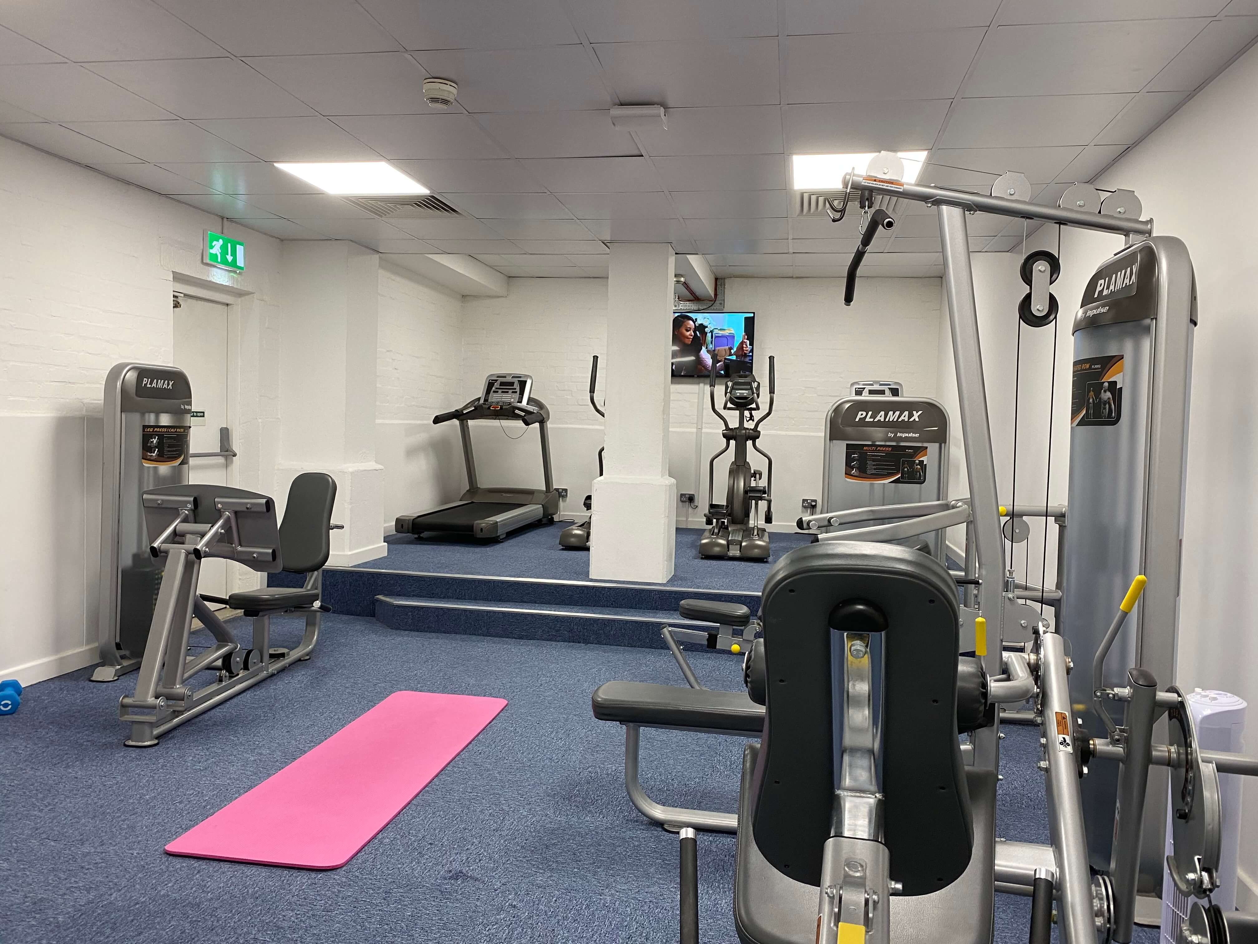 Mercia-Lodge-Coventry-Gym-Unilodgers
