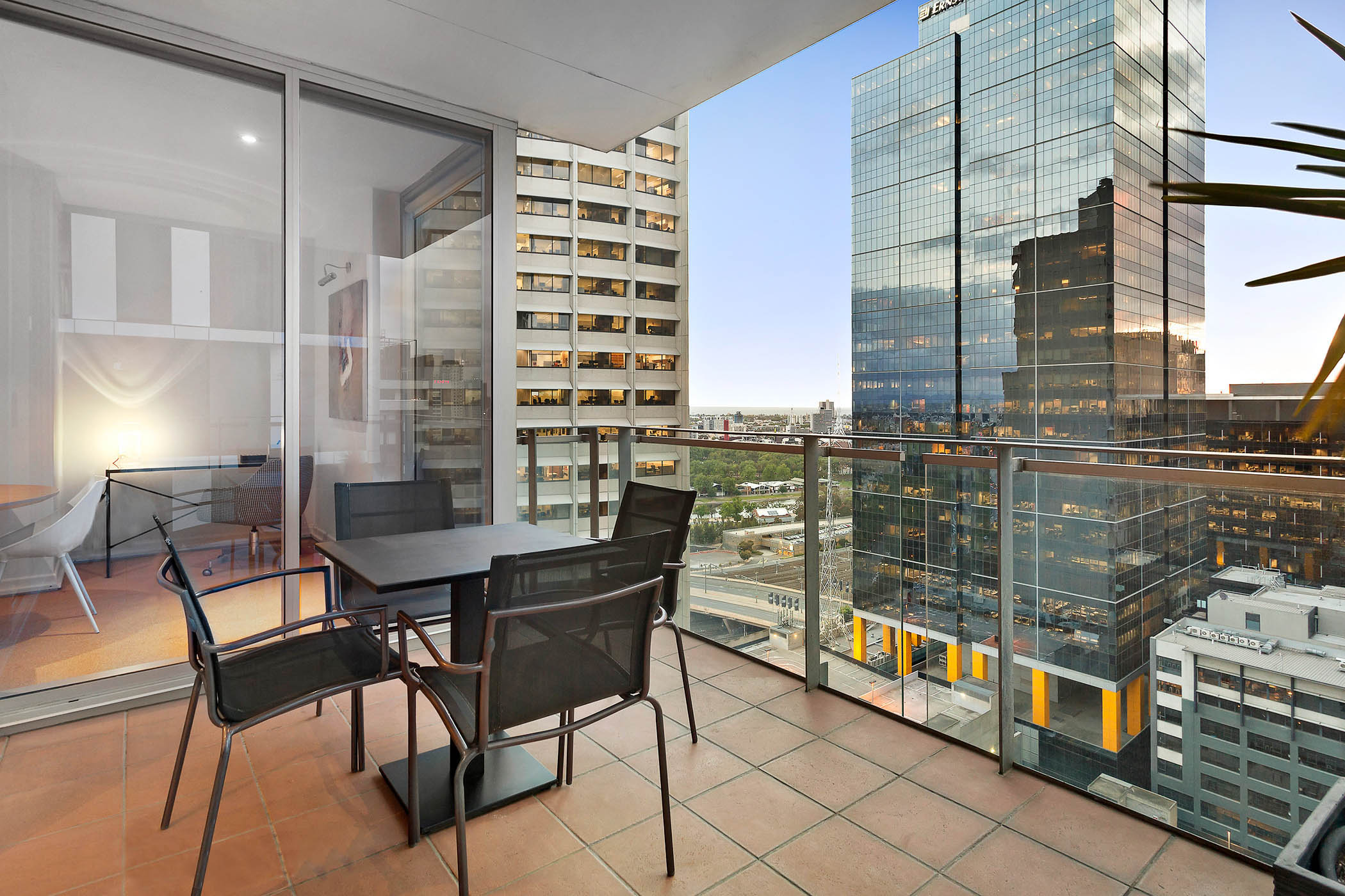 1804-31-spring-street-melbourne-student-accommodation-Melbourne-Balcony-Unilodgers
