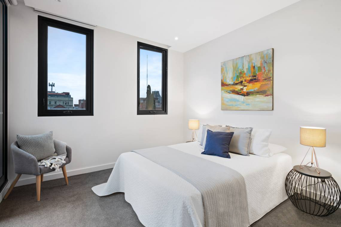 401-142-johnston-street-fitzroy-student-accommodation-Melbourne-Bedroom-Unilodgers