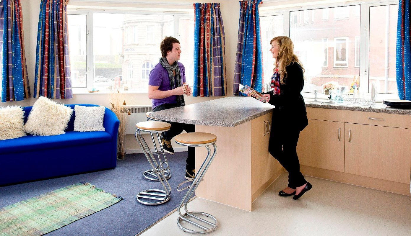 Arrad-House-Liverpool-Shared-Living-Area-Unilodgers