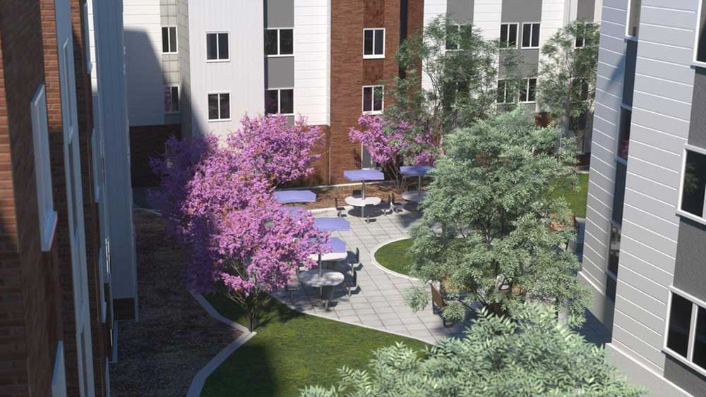 Aspire-at-Discovery-Park-West-Lafayette-In-Courtyard-Unilodgers