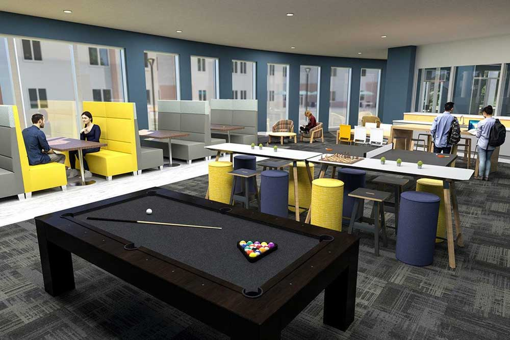 Aspire-at-Discovery-Park-West-Lafayette-In-Gaming-Area-Unilodgers