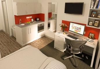 Athena-Studios-Birmingham-Kitchen-Unilodgers