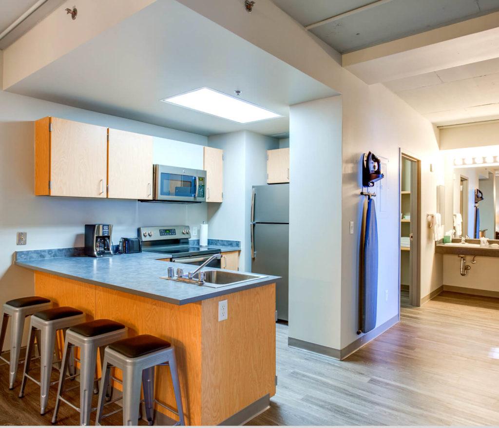 Auraria-Student-Loft-Denver-Co-Kitchen-Unilodgers