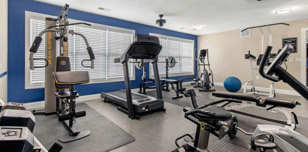 Campbell-Creek-Lillington-NC-Gym-Unilodgers