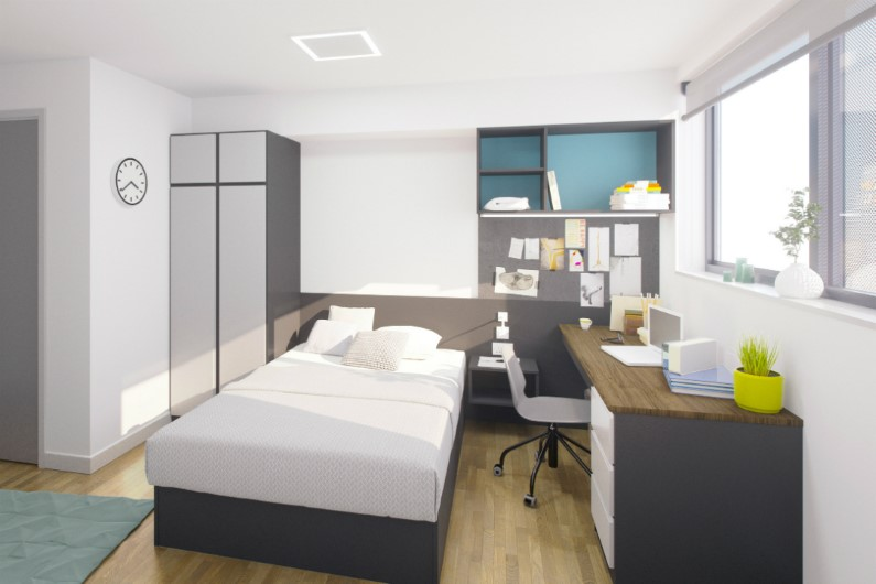 Capital-House-Southampton-Bedroom-Unilodgers