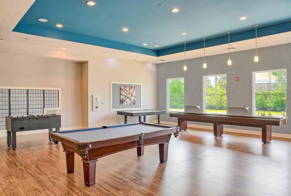 Coastal Club Student Living-Convay-SC-Pool Table-Unilodgers